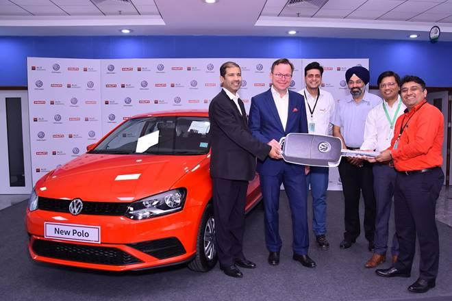 Volkswagen Polo available to Hilti employees thanks to a partnership between Hilti and ALD Automotive